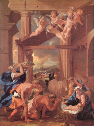 Nicolas Poussin's Adoration of the Shepherds